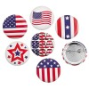 RTD-3949 - U.S.A. Flag Patriotic Button Pins