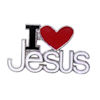 RTD-3990 - I Love Jesus Pin
