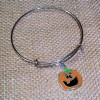 RTD-4018 - Goofy Jack-O-Lantern Expandable Bangle Bracelet