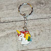 RTD-4023 - Unicorn Charm Key Chain