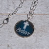 RTD-4053 - Believe Cross Inspirational Faith Charm Necklace