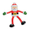 RTD-4093 - Santa Claus Bendable Christmas Holiday Toy Figure