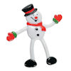 RTD-4094 - Snowman Bendable Christmas Holiday Toy Figure