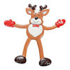 RTD-4095 - Reindeer Bendable Christmas Holiday Toy Figure