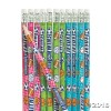 RTD-4134 - 12-Pack of Church Sports VBS Pencils