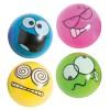 RTD-4231 - Assorted Rubber Emoji Bouncing Balls